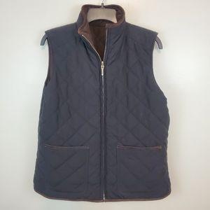 Lauren Ralph Lauren Reversible Quilted Vest Large.